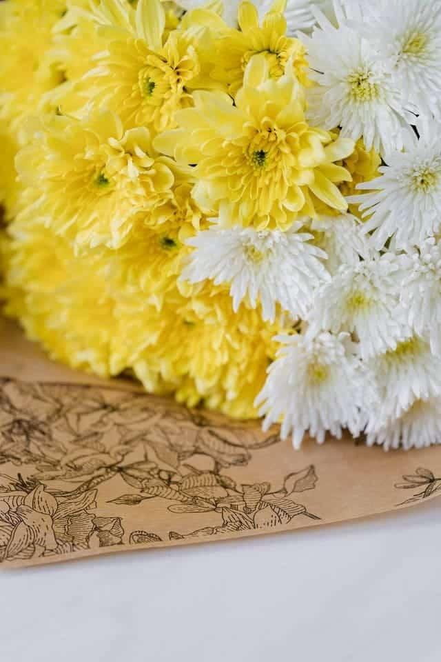 ramo de flores frescas a domicilio